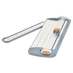 "TrimAir Titanium Rotary Paper Trimmer, Narrow Base, 12"", Grey"