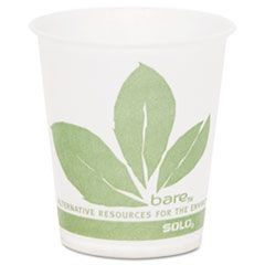 Paper Cold Cup, Bare Design, 5oz, 3000/Carton