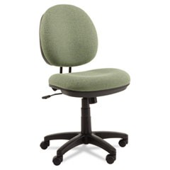 Alera Interval Series Swivel/Tilt Task Chair, Tone-On-Tone Fabric, Parrot Green
