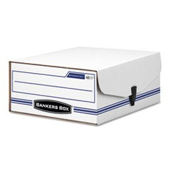 "LIBERTY BINDER-PAK, Letter Files, 9.13"" x 11.38"" x 4.38"", White/Blue"