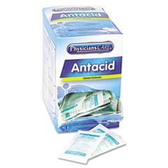 Antacid Calcium Carbonate Medication, Two-Pack, 50 Packs/Box
