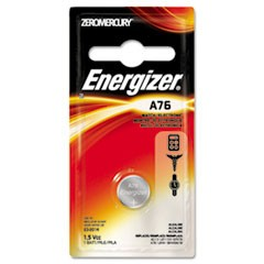 Watch/Electronic Battery, Alkaline, A76, 1.5V, MercFree