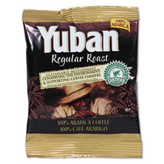 Regular Roast Coffee, 1.5 oz Packs, 42/Carton