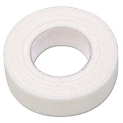"First Aid Adhesive Tape, 1/2"" x 10yds, 6 Rolls/Box"