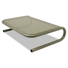 "Metal Art Jr. Monitor Stand, 11"" x 14 1/2"" x 4 1/2"", Pewter"