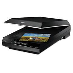 Perfection V600 Photo Color Scanner, 6400 x 9600 dpi, Black