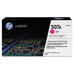 HP 507A, (CE403A) Magenta Original LaserJet Toner Cartridge
