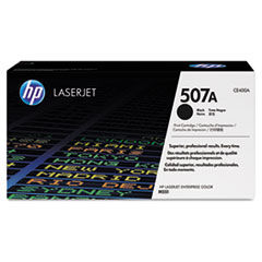 HP 507A, (CE400A) Black Original LaserJet Toner Cartridge