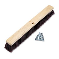 24 IN. STIFF PUSH BROOM