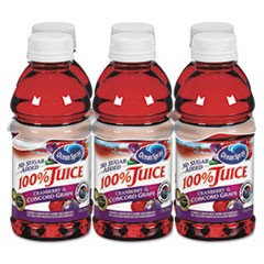 100% Juice, Cranberry Grape, 10oz Bottle, 6/Pack