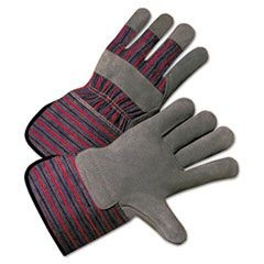 2000 Series Leather-Palm Gloves, 4 1/2 in. Cuff, Large