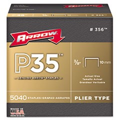 P35 Type Staples, 3/8""