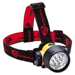 Septor LED Headlamp, Black/Yellow