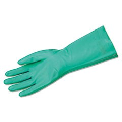 Unsupported Nitrile Gloves, Flocked Lined, Size 11/2X-Large