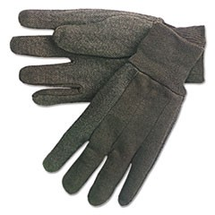 Dotted-Palm Cotton Jersey Gloves, Clute Pattern, Mens
