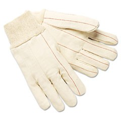 Double-Palm Hot Mill Gloves, Men's, Cotton