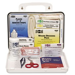ANSI Plus #25 Weatherproof First Aid Kit, 143-Pieces, Plastic Case
