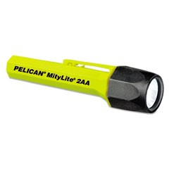 MityLite Flashlight, Xenon, 2AA, Yellow