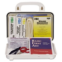 ANSI Plus #10 Weatherproof First Aid Kit, 76-Pieces, Plastic Case