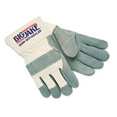Heavy-Duty Side Split Gloves, Large