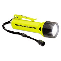 Pocket SabreLite Flashlight, 2C, Yellow