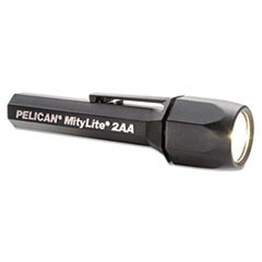 MityLite SuperDuper Flashlight, 2AA, Black, Xenon