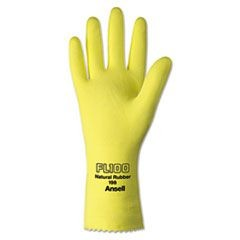 Unsupported Latex Gloves, Size 10, Light Duty