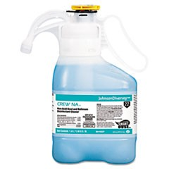 Crew Non-Acid Bowl & Bathroom Disinfectant Cleaner, Floral, 47.3oz, 2/Carton