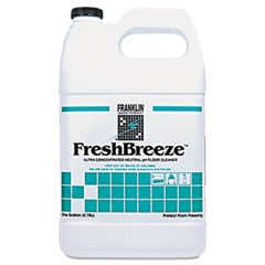 FreshBreeze Ultra Concentrated Neutral pH Cleaner, Citrus, 1gal, 4/Carton