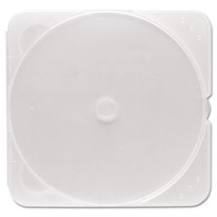 TRIMpak CD/DVD Case, Clear, 200/Pack