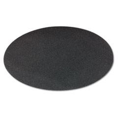 "Sanding Screens, 20"" Diameter, 100 Grit, Black, 10/Carton"