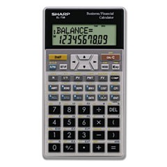 EL-738C Financial Calculator, 10-Digit LCD