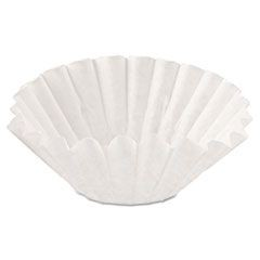 Coffee Brewer Filters, 10-Cup, Basket, 1000/Carton