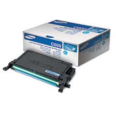 CLT-C609S (SU084A) High-Yield Toner, 7000 Page Yield, Cyan