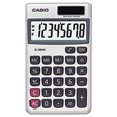 SL-300SV Handheld Calculator, 8-Digit LCD