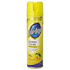 PLEDGE LEMON FURNITURE POLISH  9.7 oz 12/CS