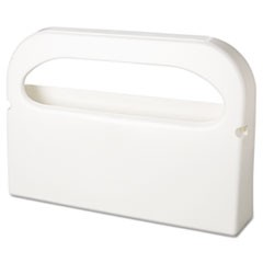 Health Gards Seat Cover Dispenser, Half-Fold, Plastic, White, 16 x 3.25 x 11.5
