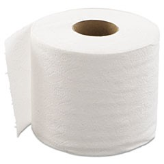 Embossed Bathroom Tissue, 1-Ply, 80 Rolls/Carton