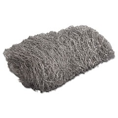 Industrial-Quality Steel Wool Hand Pad, #3 Medium, 16/Pack, 192/Carton