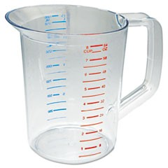 CUP,2 QT MEASURING,CLR