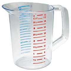 CUP,1 QT MEASURING,CLR
