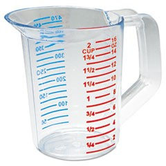 CUP,1 PT MEASURING,CLR