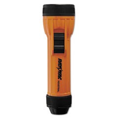 Safety Flashlight, 2 D Batteries (Sold Separately), Orange/Black