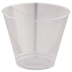 9 oz OLD FASHION CLEAR PLASTIC CUP T9S