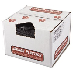 Repro Low-Density Can Liners, 2 Mil, 43 x 47, Black, 100/Carton