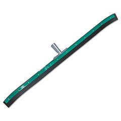 "AquaDozer Curved Floor Squeegee, 36"" Wide Blade, Black Rubber, Insert Socket"