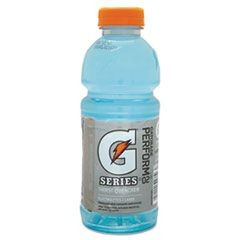 Wide Mouth Bottle Drink, Glacier Freeze, 20oz Bottle, 24/Carton