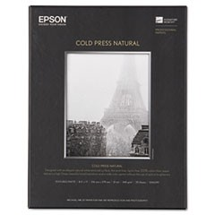 Cold Press Natural Fine Art Paper, 8-1/2 x 11, 25 Sheets