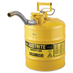 "AccuFlow Safety Can, Type II, 5gal, Yellow, 1"" Hose"