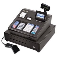 XE Series Cash Register w/Scanner, Thermal Printer, 7000 Lookup, 40 Clerks, LCD